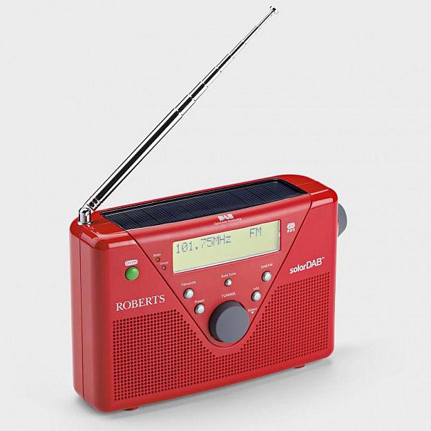 Roberts-Solar-Digitalradio DAB+/UKW
