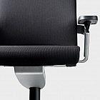 3-D-Bürodrehstuhl Fiberflex mit mittlerer Rückenhöhe