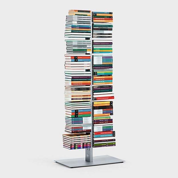 Doppel-Bücherturm Stahl
