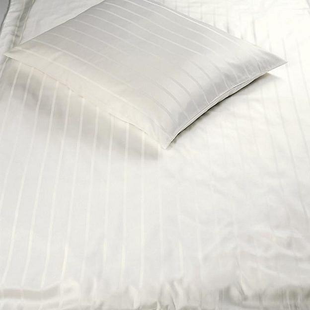 Bettbezug Streifen, elfenbeinfarben