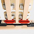 Motor-Tellerlattenrahmen Zirbe (Arve)