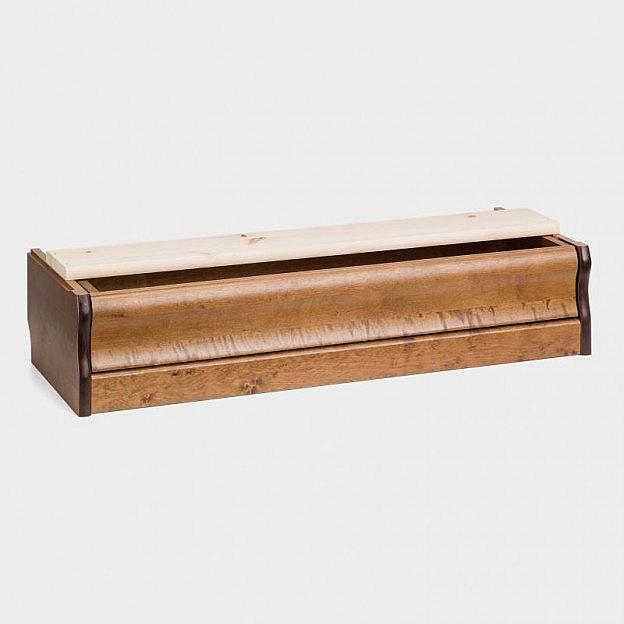 Bodensockel mit Schublade für Vitrine