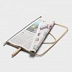 Zeitungshalter Korbrohr