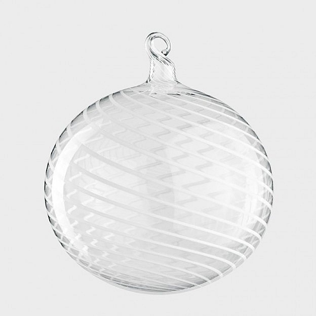 Lauschaer Christbaumkugeln Fadenglas