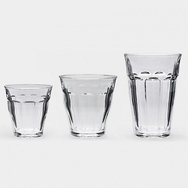 6 Picardie-Gläser