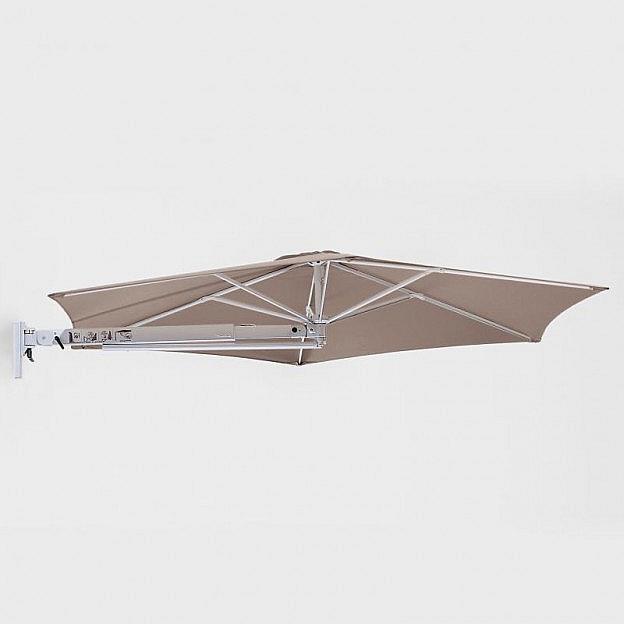 Sonnenschirm zur Wandbefestigung