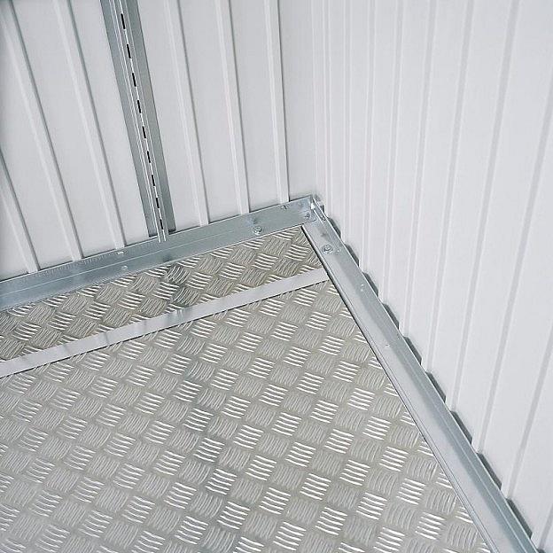 Bodenplatten Aluminium