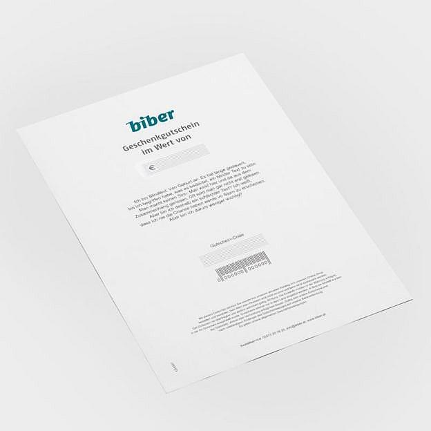 Gutschein als PDF