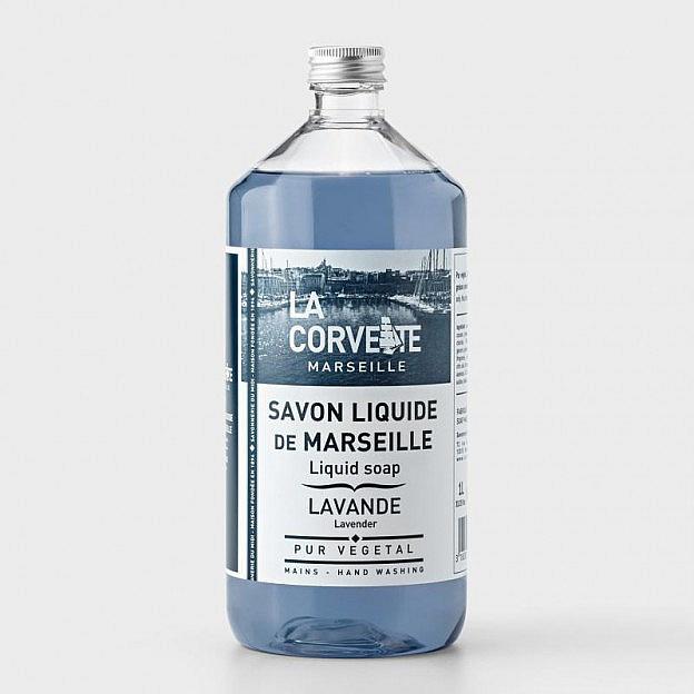 Nachfüllung Olivenölseife flüssig, Lavendel