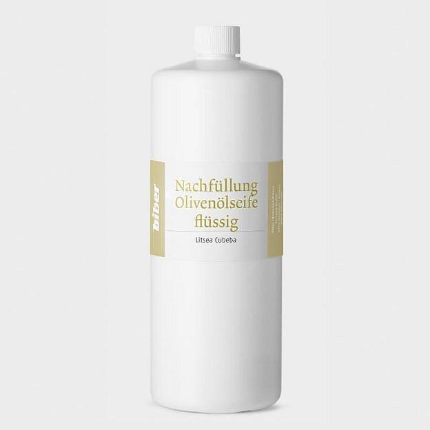 Nachfüllung Olivenölseife flüssig, Verveine 1 l