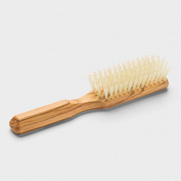 Haarbürste gerade, Olivenholz