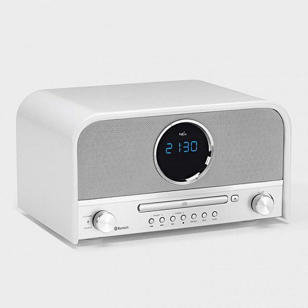 Nostalgie-Stereoradio, Bluetooth, weiß