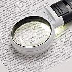 LED-Leuchtlupe 4-fache Vergrößerung