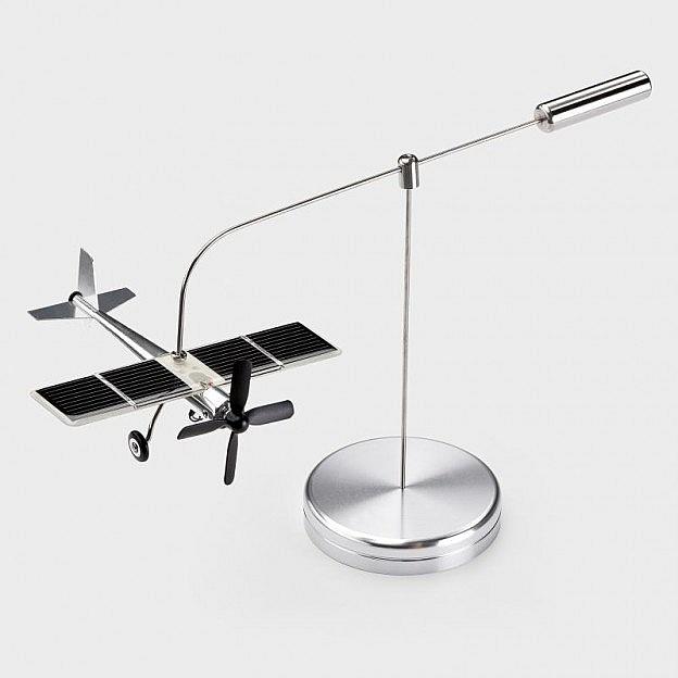 Solarflugzeug Aluminium/Edelstahl