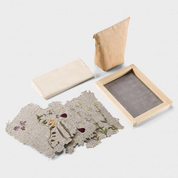 Papierschöpf-Set, Kiefernholz