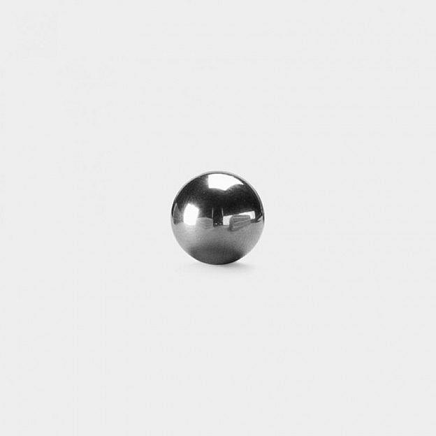 7 Minigolfbälle Edelstahl