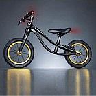 Karbon-Laufrad, schwarz