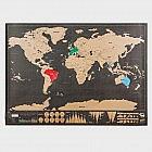 Rubbel-Weltkarte: Wo war ich schon?
