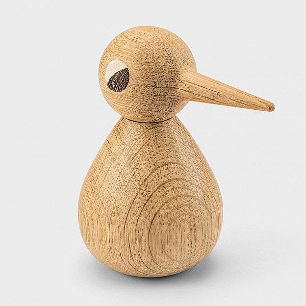 Holzvogel Bird groß, Eiche
