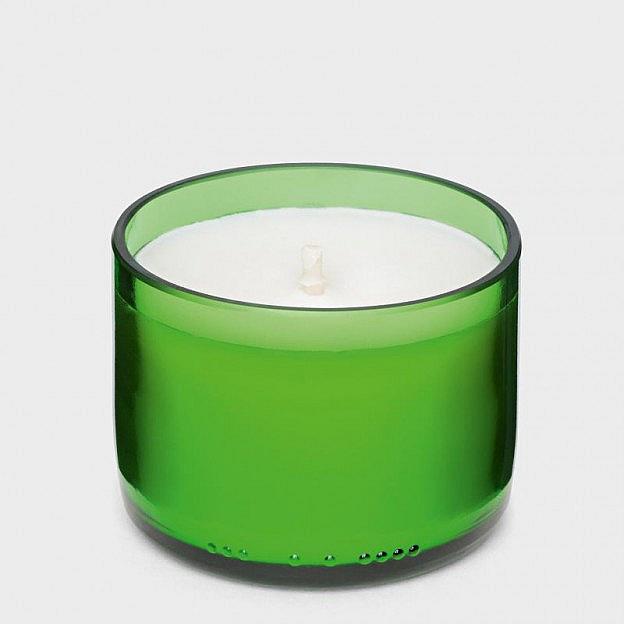 Duftkerze Weinglas, Pfefferminze
