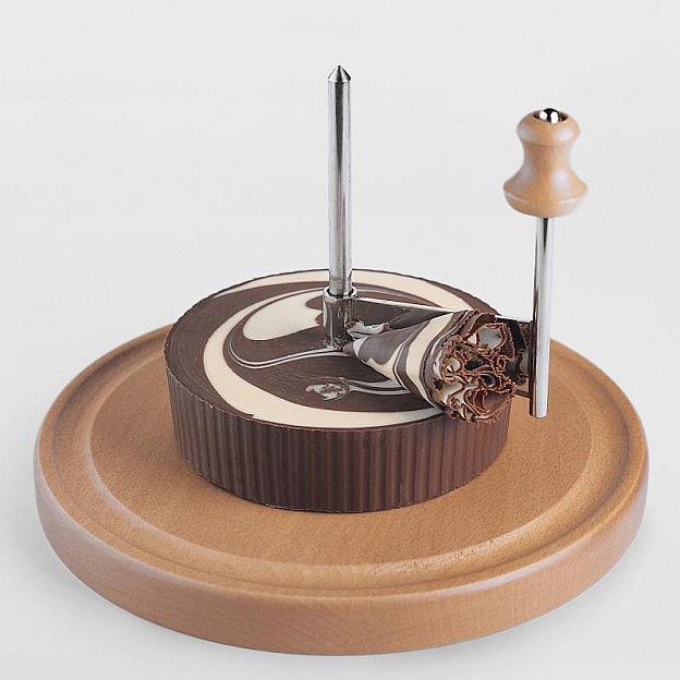 Schokoladen-Roulette Schwarz-Weiß