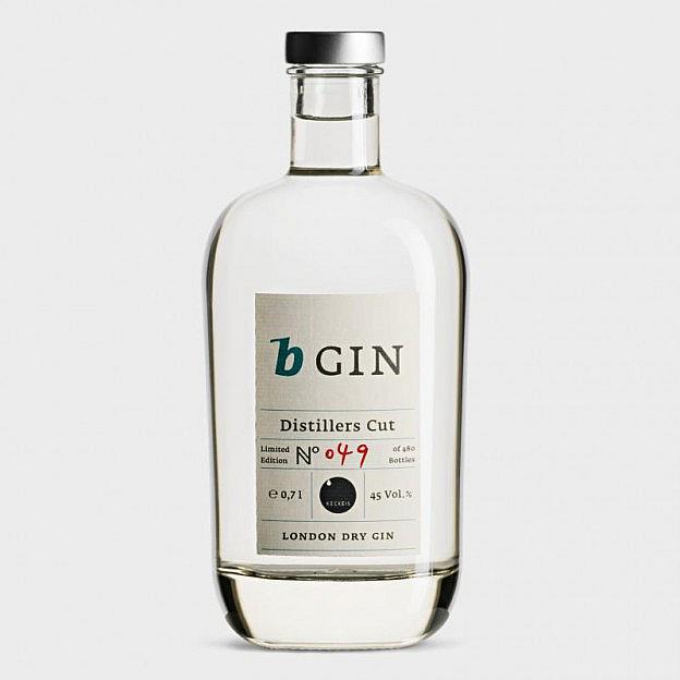 b-Gin, Distillers Cut, limitierte Auflage