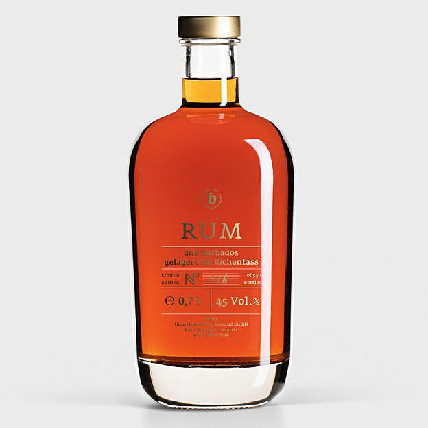 b-Rum, limitierte Auflage