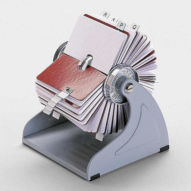 Rollkartei für Adresskarten