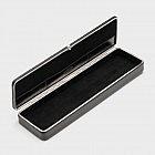 Schreibtischutensilienbox Rindsleder, schwarz
