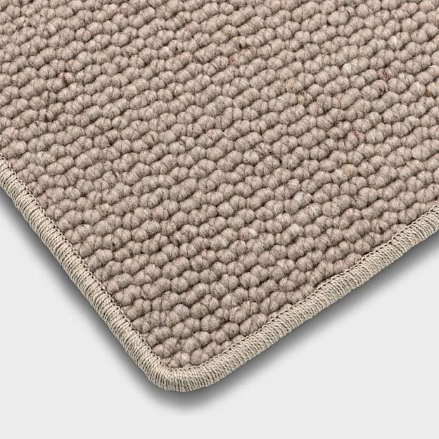 Schurwollteppich sand, 200 x 300 cm