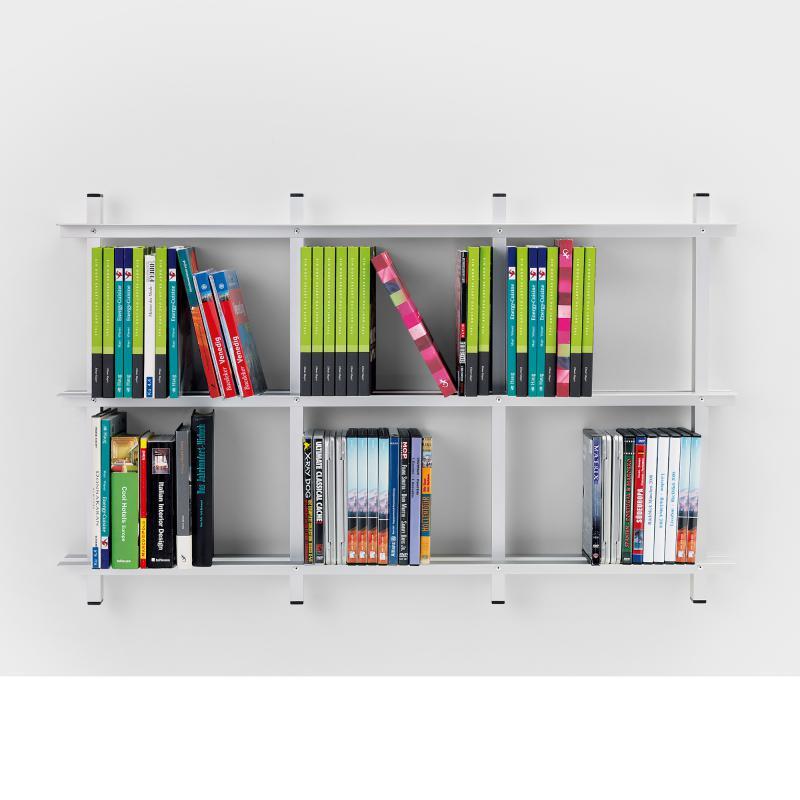 wandregal b cher design. Black Bedroom Furniture Sets. Home Design Ideas