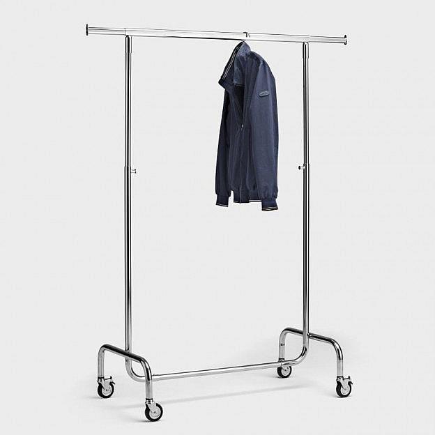 Mobiler Kleiderständer Stahl
