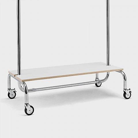 ablagebrett f r kleiderst nder. Black Bedroom Furniture Sets. Home Design Ideas