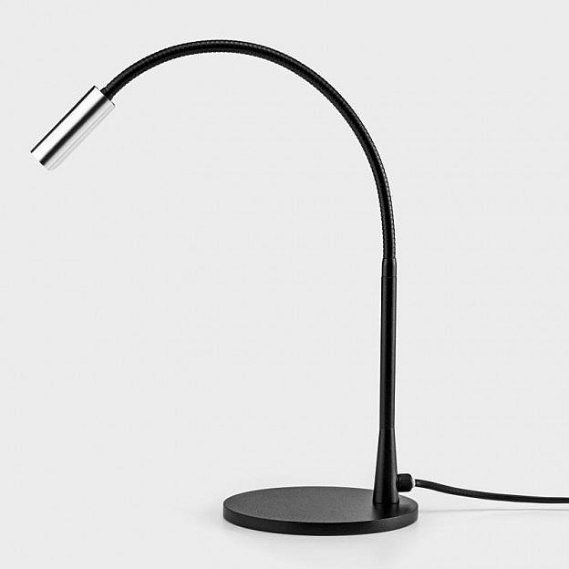LED-Nachttischleseleuchte fokussierbar