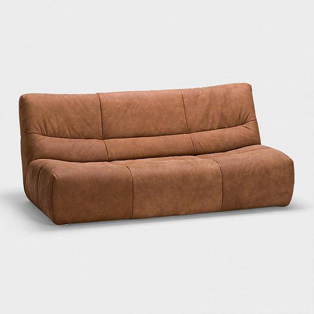 2,5-Sitz-Sofa Cayman Wasserbüffelleder