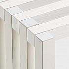 Faltbares Sideboard weiß/weiß
