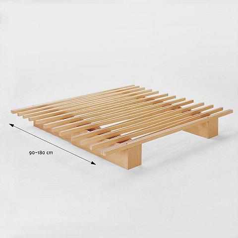 Variables einzel und doppelbett aus holz for Doppelbett platzsparend