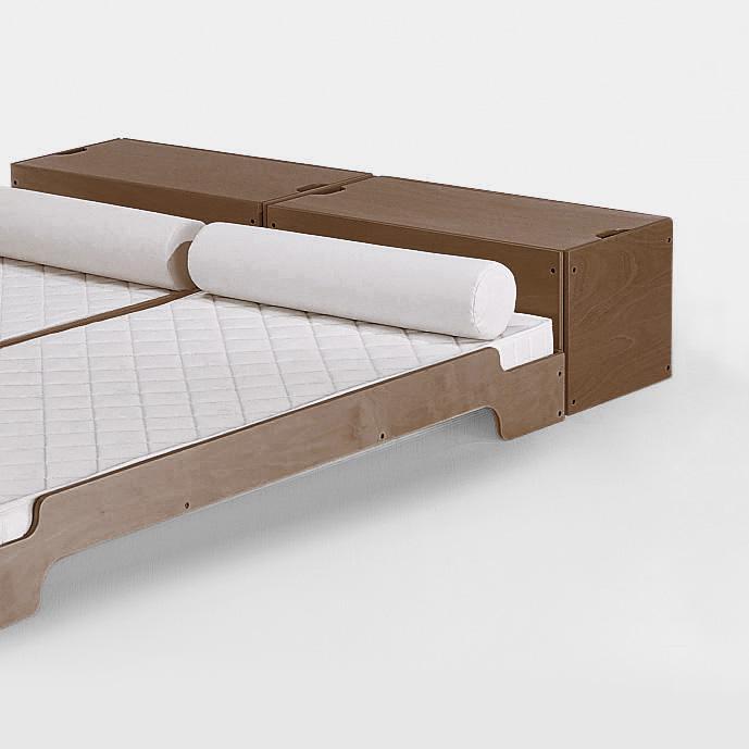 biber umweltprodukte bettkasten zum stapelbett online bestellen. Black Bedroom Furniture Sets. Home Design Ideas
