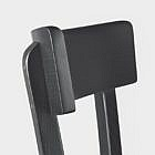 Original Frankfurter Stuhl, schwarz gebeizt