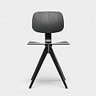 Mosquito-Stuhl 1953, schwarz
