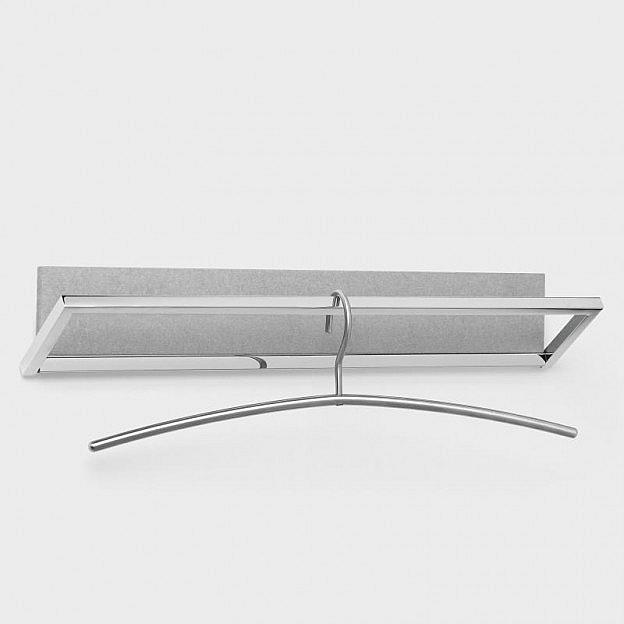 Garderobe Beton/Stahl