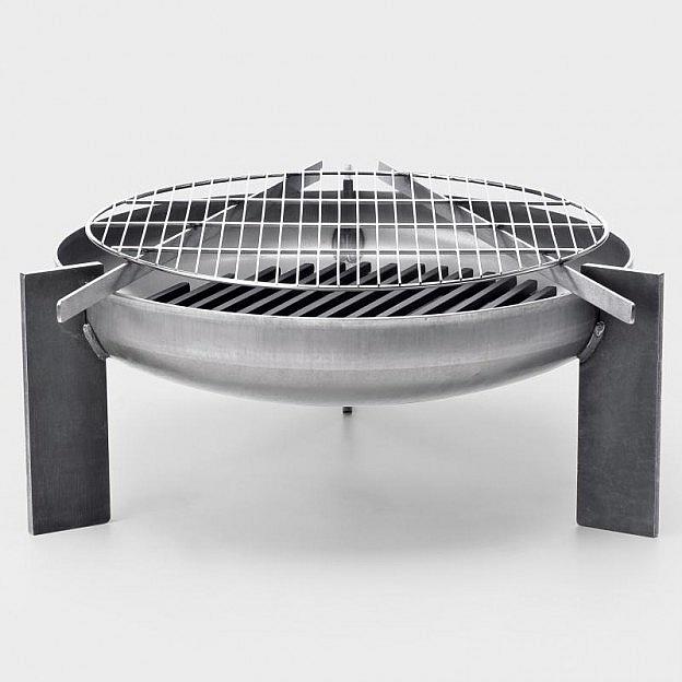Grillrost Edelstahl für Feuerstelle Stahl
