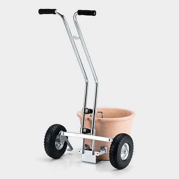 Transportkarre für Pflanzenkübel, Stahl