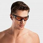 Sportbrille mit 2 Gläsern