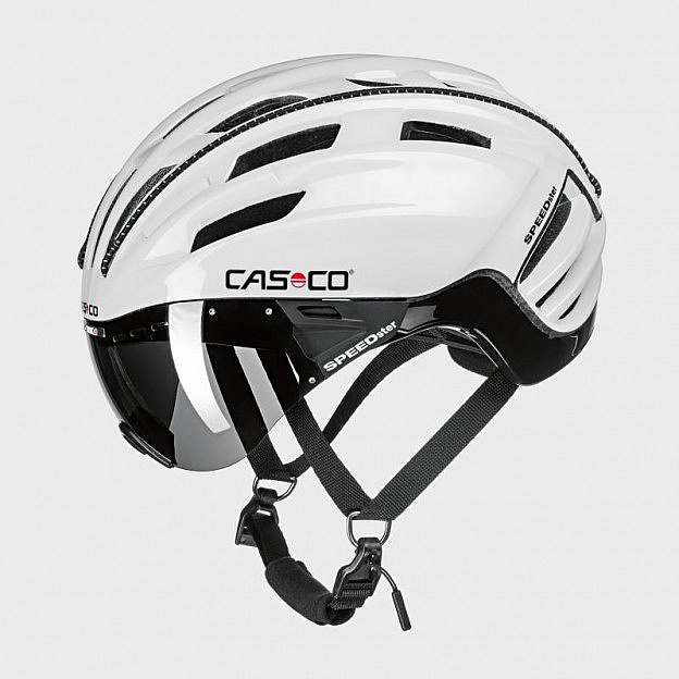 Fahrradhelm mit Carbonic Visier