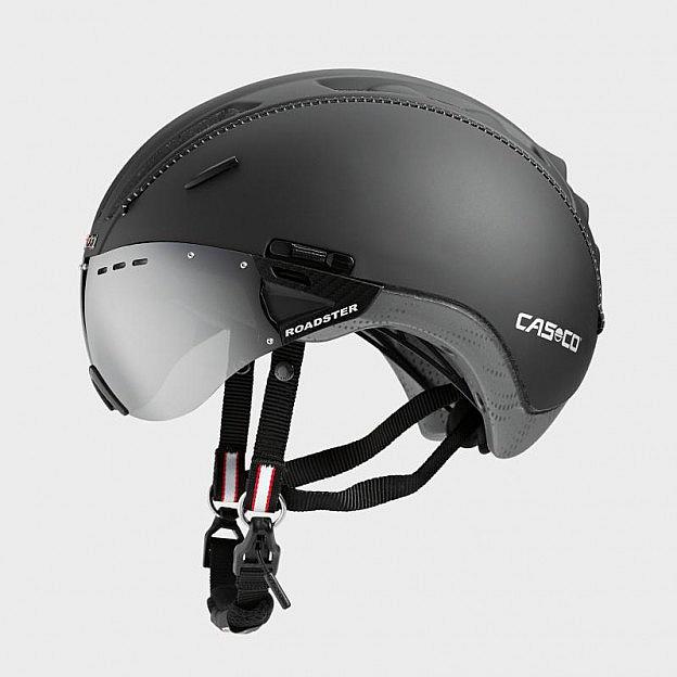 Fahrradhelm mit Carbonic-Visier