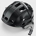 Faltbarer Fahrradhelm, schwarz