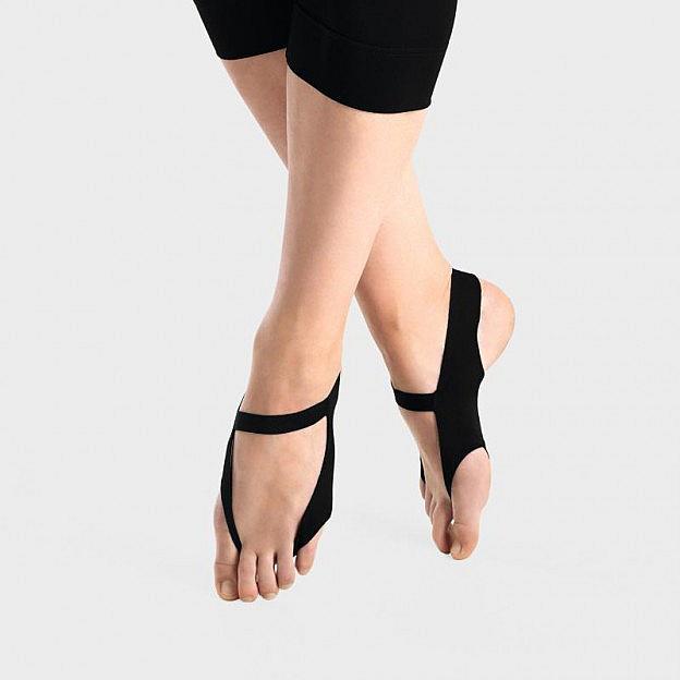 Haltungs-Fußschlinge, schwarz