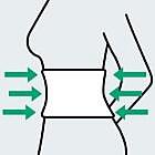 Rückenstützgürtel für Haus- und Gartenarbeit