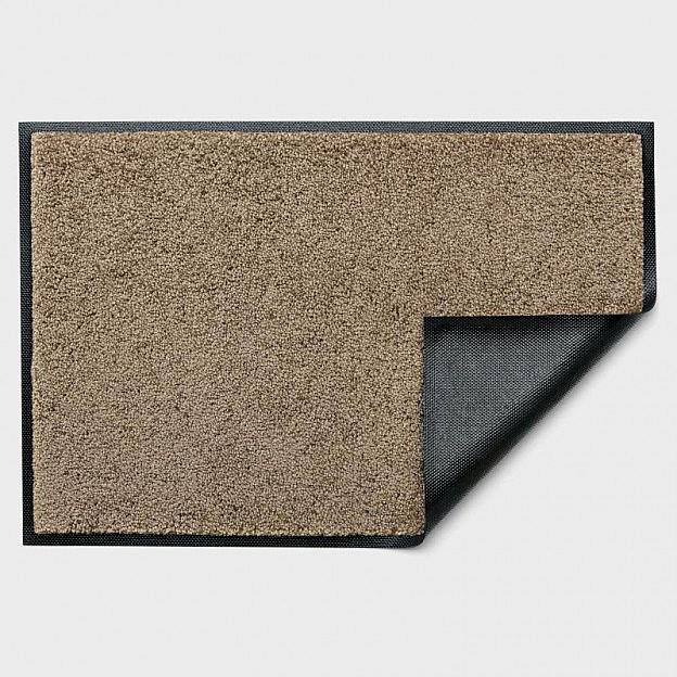 Fußmatte Polyamid 60 x 180 cm, beigegrau